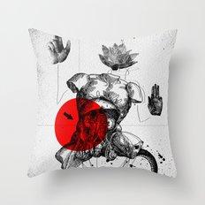 The Body Throw Pillow