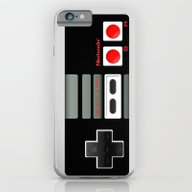 iPhone & iPod Case featuring Classic Retro Nintendo G… by Three Second