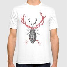 Hannibal's Totem Mens Fitted Tee White SMALL