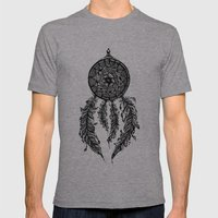 Dreamcatcher  Mens Fitted Tee Athletic Grey SMALL