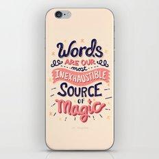 Source of Magic iPhone & iPod Skin
