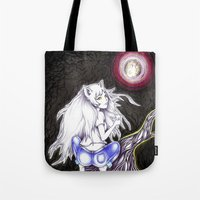 Night Of The Cat Tote Bag