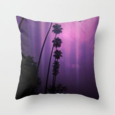 Purple Imagination Throw Pillow