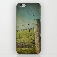 Wild West Fence  iPhone & iPod Skin