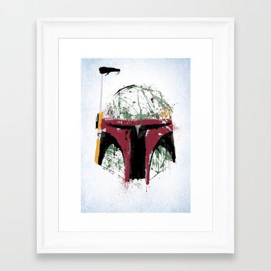 Boba Framed Art Print