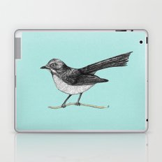 Willy Wagtail Laptop & iPad Skin