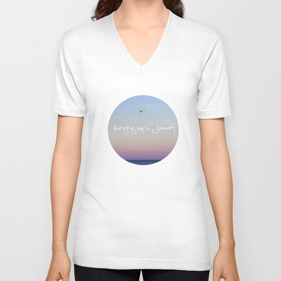 Hanging by a Moment V-neck T-shirt