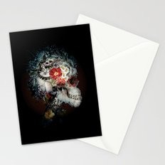 Skull I Black Series Stationery Cards