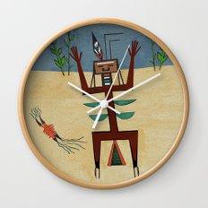 Healing Ceremony Wall Clock