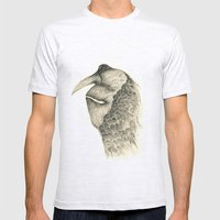 Plumy Mens Fitted Tee Ash Grey SMALL
