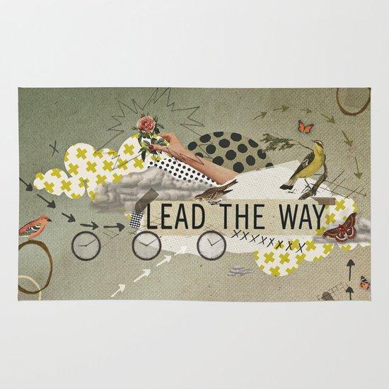 lead the way Area & Throw Rug