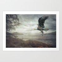 Eagle Lake Art Print