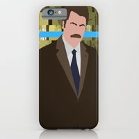 iPhone & iPod Case featuring The Swanson by sens