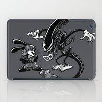 Alien Vs Oswald iPad Case