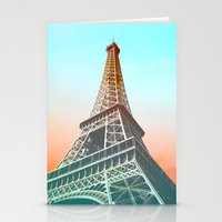 eiffel Stationery Cards featuring Eiffel  by Ben Fischl