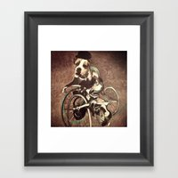 Francis Bacon Bicycle Bu… Framed Art Print