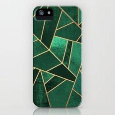 Emerald and Copper iPhone SE Slim Case