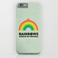 Rainbows Should Be Porta… iPhone 6 Slim Case