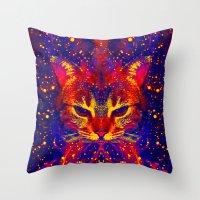 Atziluth-Lady Jasmine  Throw Pillow