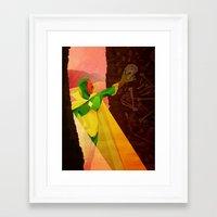 The Vision of Man Framed Art Print