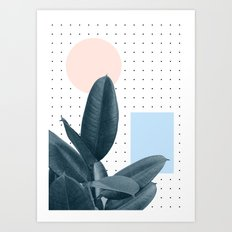 Wont waste another day Art Print