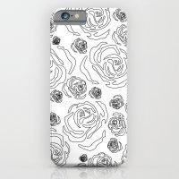 rose repeat iPhone 6 Slim Case