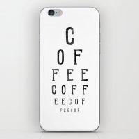 C O F F E E iPhone & iPod Skin