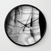 Heart Of Pine::Against T… Wall Clock