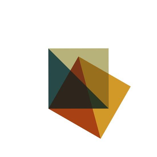 #378 Flag of failure – Geometry Daily Art Print