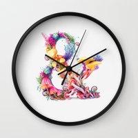 Mushrooms & Wall Clock
