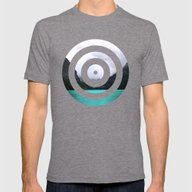 Lake Louise Mens Fitted Tee Tri-Grey SMALL