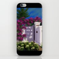 Santa Barbara Bougainvil… iPhone & iPod Skin