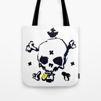 XXX Skull C Tote Bag