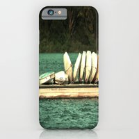 Boats on the Dock iPhone 6 Slim Case