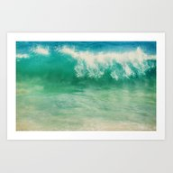 Art Print featuring SUPREMA-SEA by Catspaws