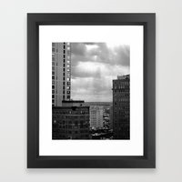 Philadelphia  Framed Art Print
