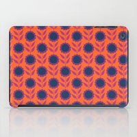 Retro Bloom Purple 8 iPad Case
