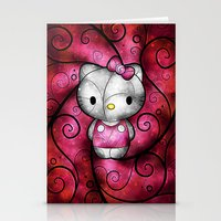 Hewo Kitteh :) Stationery Cards