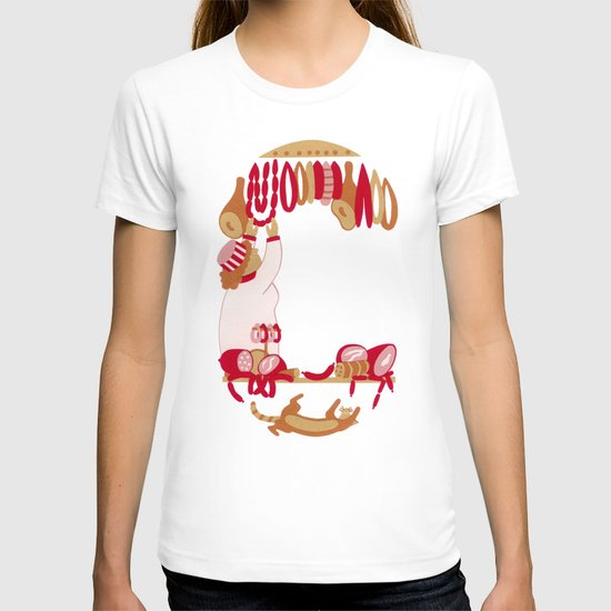 C as Charcutière (Pork butcher) T-shirt