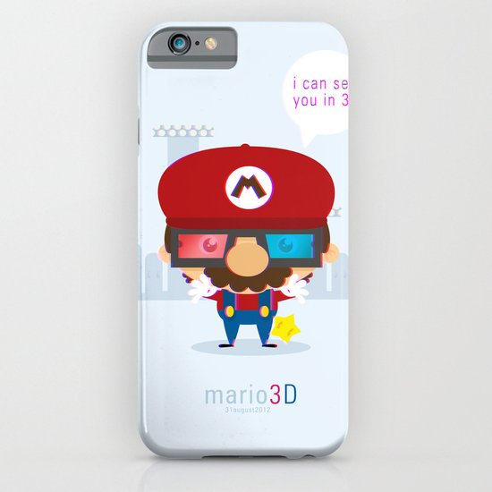 mario 3d iPhone & iPod Case