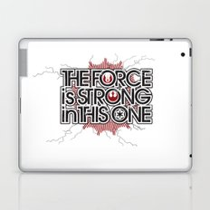 The Force is strong in this one Laptop & iPad Skin