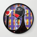 MAMMA AFRICA-CUORE IN MANO Wall Clock