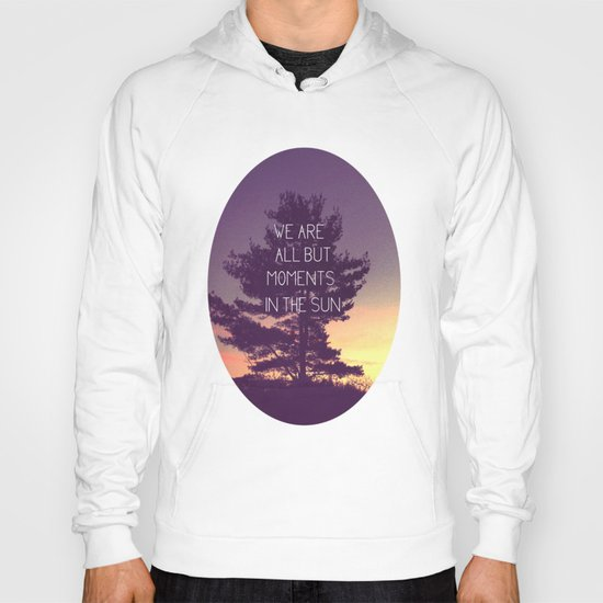 We Are All But Moments in the Sun Hoody