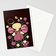 Floral Flower Artprint Stationery Cards