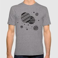 Pattern Doodle One Mens Fitted Tee Athletic Grey SMALL