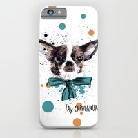 iPhone & iPod Case featuring Chic Chihuahua dog by Studio Caravan