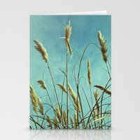 Aesthetic Grass Stationery Cards