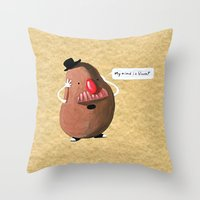 Potato Head's Existentia… Throw Pillow