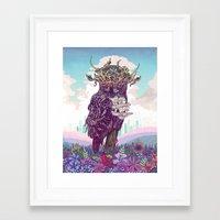 Journeying Spirit (Owl) Framed Art Print