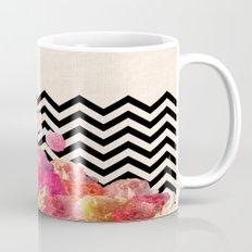Chevron Flora II Mug